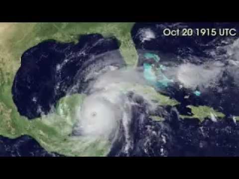 Hurricane  Wilma lifecycle