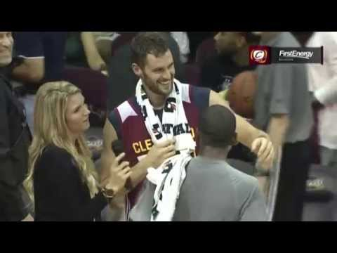 Video: Kevin Love Gets Video Bombed by New Teammates