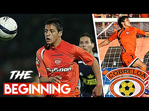 Alexis Sanchez ● The Beggining ● Best Goals Cobreloa