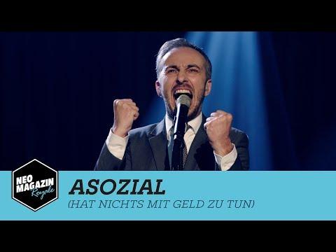 Asozial (hat nichts mit Geld zu tun) | Neo Magazin Royale mit Jan Böhmermann - ZDFneo
