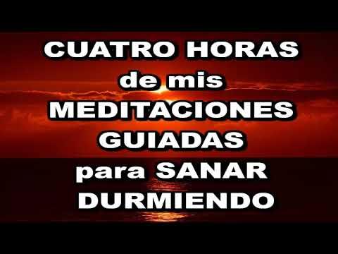 """4 HORAS de mis MEDITACIONES GUIADAS. Dormir en PROFUNDA PAZ, """"SUELTO, CONFÍO"""", ANSIEDAD, DEPRESIÓN."""