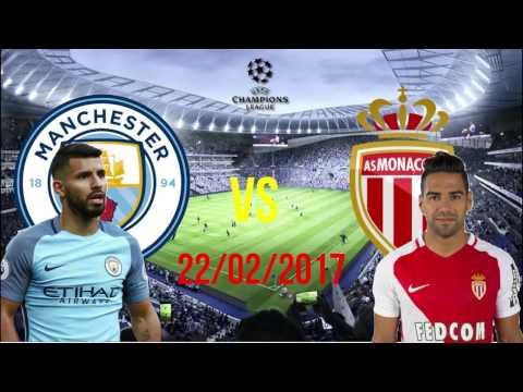 Manchester City vs Monaco All Goals (5 - 3) 22/02/2017