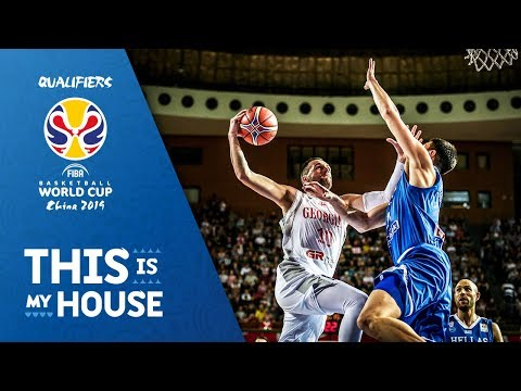 Georgia v Greece - Highlights - FIBA Basketball World Cup 2019 - European Qualifiers