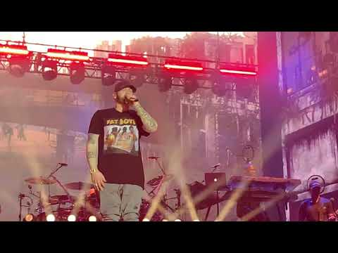 Eminem - My Name Is, Without Me, The Real Slim Shady (Live at Brisbane, Australia, 02/20/2019)