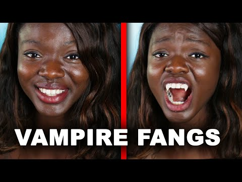 I Got Real Vampire Fangs