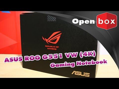 เปิดกล่องดูความสามารถ ASUS G551VW-FI233T Gaming Notebook เจาะลึกทุกคุณสมบัติ