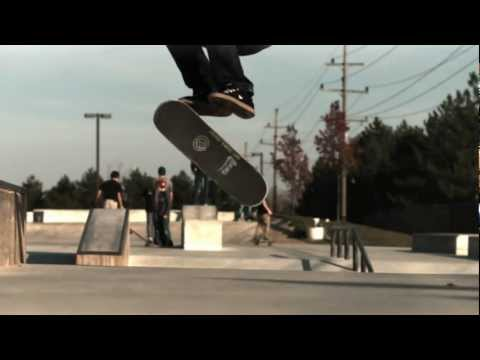 720 Double Kickflip Slow Motion