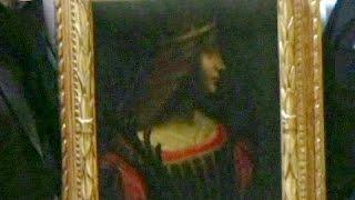Leonardo da Vinci'nin kayıp tablosu İsviçre'de bulundu