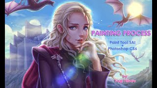 Finished image:http://fav.me/dbhhnlm She is home! Daenerys finally got back to her homeland~! Yay! Even if she doesn't smile in...