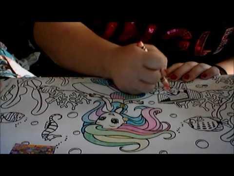 coloring lisa frank