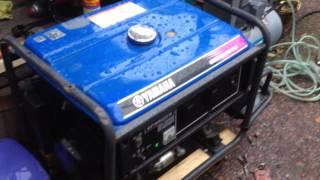 5. Yamaha EF5500E generator