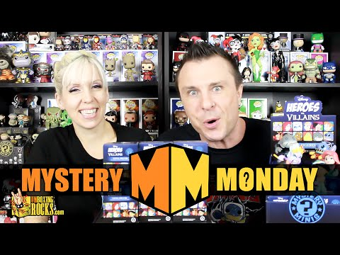 Mystery Monday Ep 30 : FULL CASE of DISNEY Heroes Vs. Villains Funko Mystery Minis (Part 2)