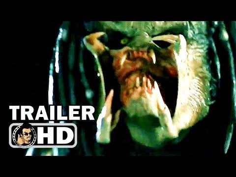 THE PREDATOR NBA Extended TV Spot (2018) Sci-Fi Horror Action Movie HD