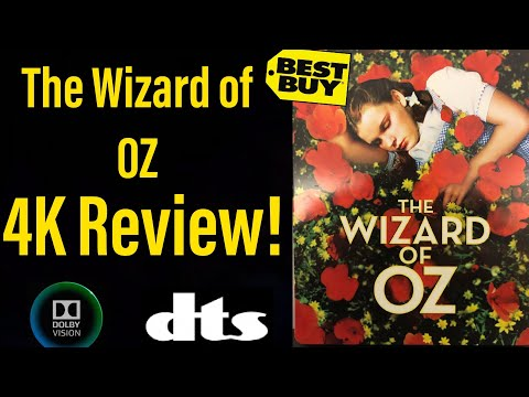 """""""The Wizard of OZ"""" (1939) 4K Steelbook Review!"""
