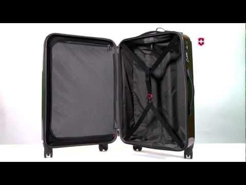 Spectra Hardside Luggage Interior