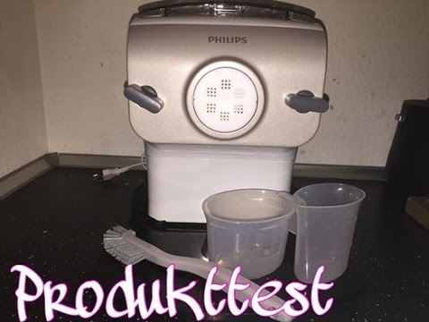Produkttest Philips Pasta Maker HR2355/12 Nudelmaschine