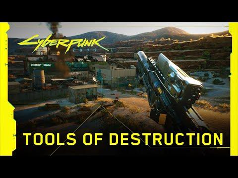 Outils de destructions de Cyberpunk 2077