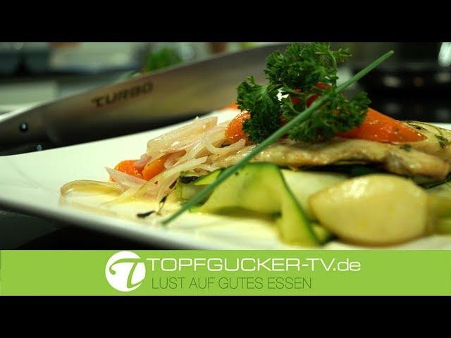 Dorade | Gemüsebett | Beurre Blanc Sauce | Topfgucker-TV