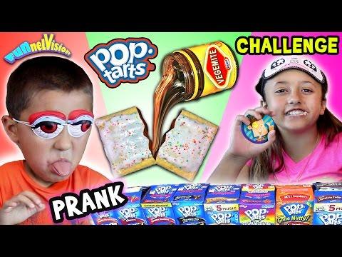 VEGEMITE POP TART PRANK CHALLENGE w/ Lex & Mike (FUNnel Vision pt. 2) (видео)