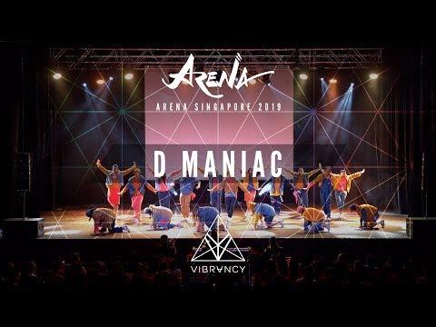 [1st Place] D Maniac | Arena Singapore 2019 [@VIBRVNCY 4K] - Thời lượng: 5 phút, 5 giây.