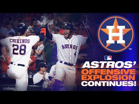 Video: Astros hit seven homers