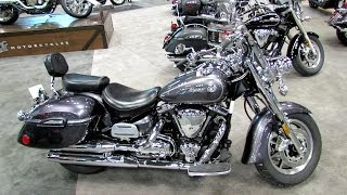 5. 2014 Yamaha Road Star Silverado S  Walkaround - 2013 New York Motorcycle Show