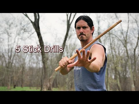 5 Single Stick Drills - Kali Eskrima Arnis