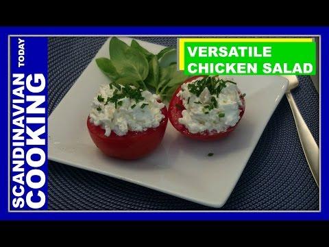 Danish Horseradish Chicken Salad for Sandwiches or Appetizer