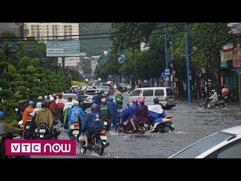 Bà Rịa - Vũng Tàu: Nhiều tuyến đường ngập sâu - Thời lượng: 2 phút, 56 giây.