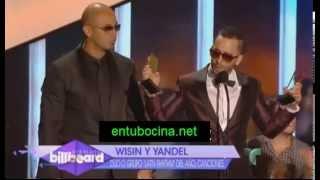 Wisin&Yandel Ganan Premio Como Duo O Grupo