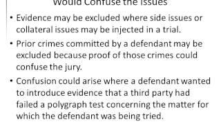 Gary Sokolow AJ6 Intro to Evidence 10042012