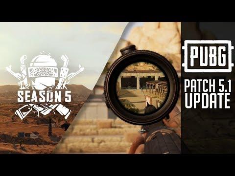 PUBG第5賽季更新介紹