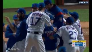 CHICAGO CUBS ADVANCE TO THE WORLD SERIES