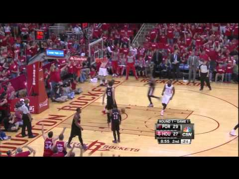 Terrence Jones block & dunk vs Blazers