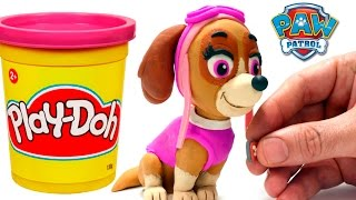 Video Skye Paw Patrol Stop Motion Play Doh claymation plastilina playdo Patrulla canina de cachorros MP3, 3GP, MP4, WEBM, AVI, FLV Desember 2017