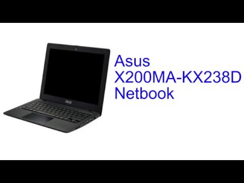 Asus X200MA-KX238D Netbook Specification [INDIA]