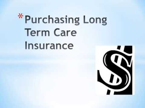 So How Exactly Does Long Term Care Insurance Function?