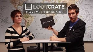 Loot Crate Unboxing - November 2013
