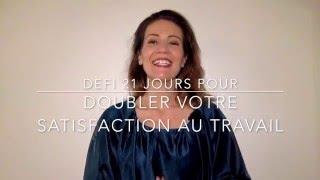 Vidéo 21/21 pour doubler votre satisfaction au travail: destination réussite.