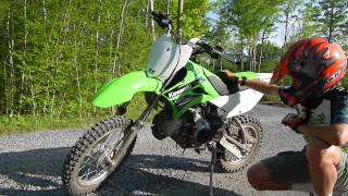 1. Kawasaki KLX110L Reveiw and Test Run