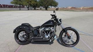 8. 032147 - 2012 Harley Davidson Softail Blackline   FXS - Used motorcycles for sale