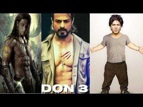 Shah Rukh Khan Upcoming Movies - Zero - Don 3 Trailer - 2018 to 2020