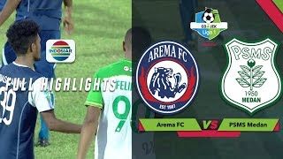 Video AREMA FC (5) vs (0) PSMS Medan - Full Highlight | Go-Jek Liga 1 bersama Bukalapak MP3, 3GP, MP4, WEBM, AVI, FLV Maret 2019
