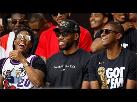 Video: The Raptors are upset about losing Kawhi Leonard | Jalen & Jacoby