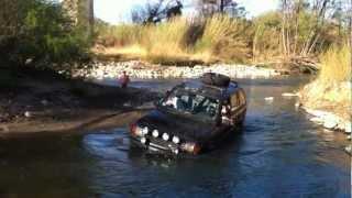 Passage A Gué Range Rover P38 Sans Snorkel (mais A Prevoir)