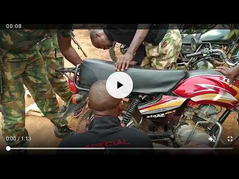 See What These Soldiers Found When They Searched This Bike