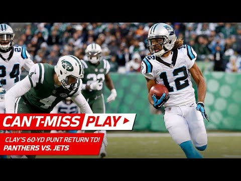 Video: Kaelin Clay Makes 'em Miss w/ Sick Spin Move on 60-Yd Punt Return TD! | Can't-Miss Play | NFL Wk 12