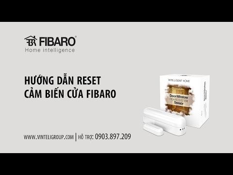 Hướng dẫn Reset Cảm biến cửa Fibaro - Vinteli Home