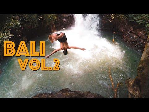 Bali Trip vol. 2 - Swaypaul and Kittykatcom. Jump from the waterfalls