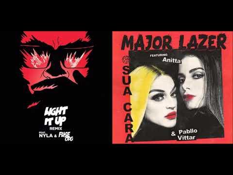 Light It Up x Sua Cara - Major Lazer ft. Anitta, Pabllo Vittar, Nyla and Fuse ODG (Mashup!)